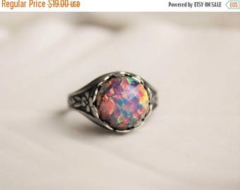 VACATION SALE- Fire Opal Ring