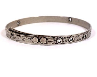 TierraCast Beadable Bangle - Antique Silver - Choose Your Quantity