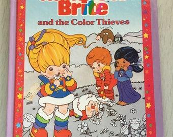 1984 hardcover Rainbow Brite children's book