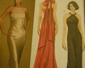 Gorgeous Evening Dresses--UNCUT Pattern--6-12 Multi Sizes -- 20-70% off Patterns n Books SALE