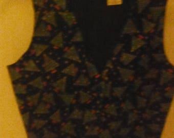 Christmas Vest--Little Boys Sz 3-4--HARD FIND