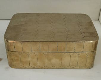 Brass 'Turtle' Box
