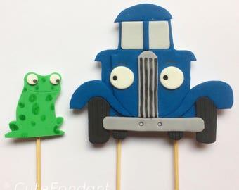 Little Blue Truck Cake Topper Etsy