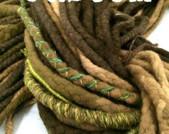 Wool Dreadlocks - Custom Set of 35