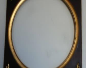 A Large Antique Wooden gilded Frame