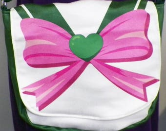 Sailor Jupiter Inspired Purse Made to Order