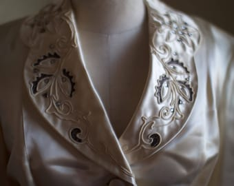 Vintage 1940s Begie Dress Suit