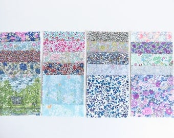 "Charm Pack 4.5"" Liberty Lawn 20 piece."