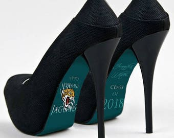 Custom hand painted Graduation Class of 2018 heels