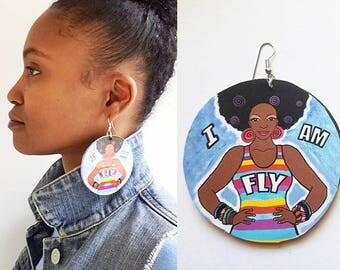 I AM FLY Earrings