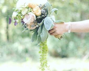 Summer Solstice Sale Rose Gold Quartz Cuff // Quartz Bracelet // Quartz Cuff // Bridesmaid Gift // Wedding Jewelry // Stackable Bracelet //