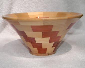 Segmented Wood Bowl #254
