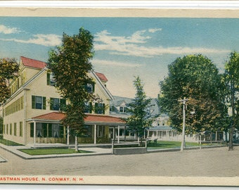 Eastman House North Conway New Hampshire 1920s postcard