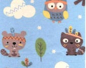 Adoption pages baby book special order tribal animal flannel