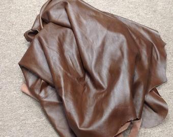 6-908.  Brown Leather Cowhide