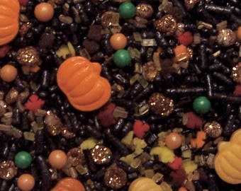 Edible Sprinkles,Smashing Pumpkins,Custom Colors,Cookie, Cakepop Cupcake Confetti Decorations