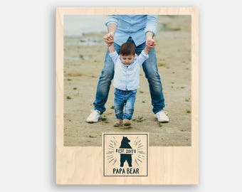 New Dad Gift Fathers Day Photo Frame Fathers Day Gift from Daughter Fathers Day Gift from Kids Dad Photo Frame Dad Photo Gifts for Dad Gifts