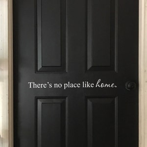 There S No Place Like Home Vinyl Wall Decal Wizard Of Oz