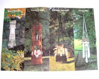 Retro Macrame Home Decor Pattern Book - Macrame Enchantment