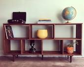 Reserve-K-MID CENTURY MODERN Custom Bookshelf (Los Angeles)