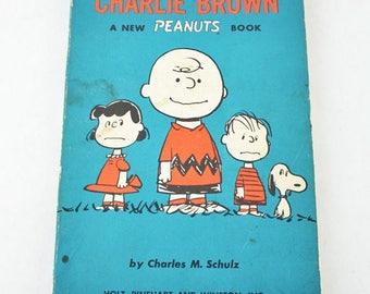 We're Right Behind You, Charlie Brown- 1960s Paperback Vintage Comic Book