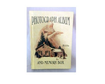 Norman Rockwell Keepsake Photograph Album and Memory Box
