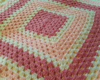 Pink and Pretty Baby Blanket
