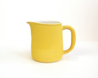 Arabia Finland Yellow FL-2 Pitcher Mid Century Scandinavian