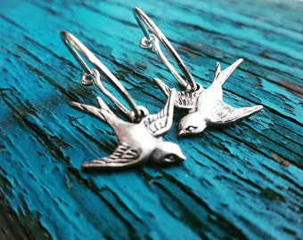 Silver Sparrow Earrings