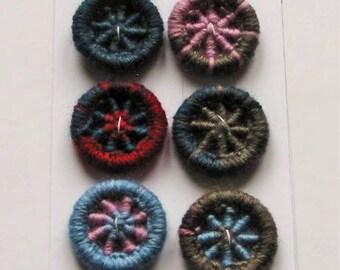 Dorset Pinwheel Buttons