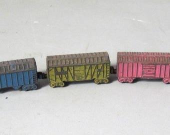Vintage metal Railroad Toy Train