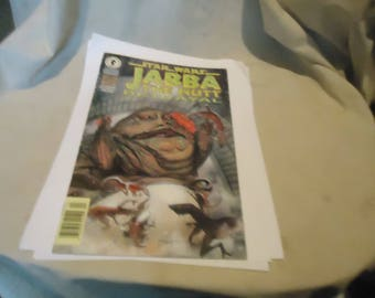 Vintage 1996 Star Wars Jabba The Hut Betrayal Comic, collectable