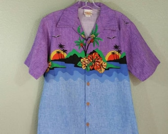 Men's Hawaiian Shirt S/M