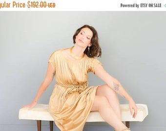 40% OFF SALE - Vintage 1970's Geoffrey Beene Grecian Dress