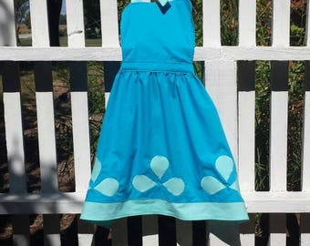 Girls Trolls Poppy inspired apron