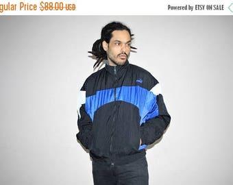 On SALE 35% Off - 1990s Vintage Puma Colorblock Hip Hop Windbreaker Jacket - Puma Brand Jackets - 90s Clothing - MV0183