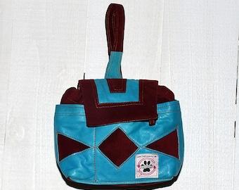 Leather!! Designer Dog Walking Bag - The Petphoria Bag