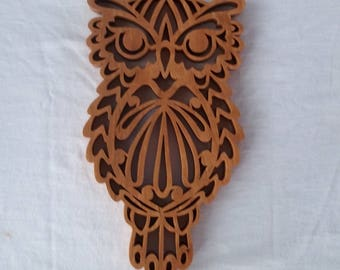 Owl Trivet or Wall Hanging