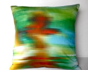 SALE SALE SALE pixel fabric, throw pillow, cushion cover,decorative pillow cover, cushion cover, eco friendly organic cotton throw cushion 1