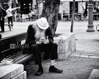 Jerusalem street photography, street photography, black and white photography, Jerusalem prints, Israel prints, Israel photography