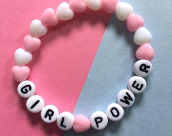 Girl Power Spice Girls Inspired bracelet