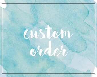Custom Cat Necklace - Sterling Silver - 1st Installment for Sharon