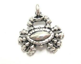 75% OFF - 20pcs Silver Crab Charms Nautical Charm Zodiac Beads - Wholesale Nautical Charm - Silver Crab Pendant - Beach Charms E59