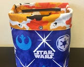 CUSTOM ORDER for Donna: Star Wars (glow-in-the-dark) - Halloween Project Bag
