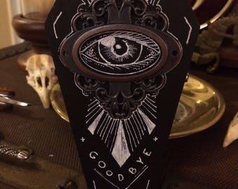 Ouija Eye Pin Coffin