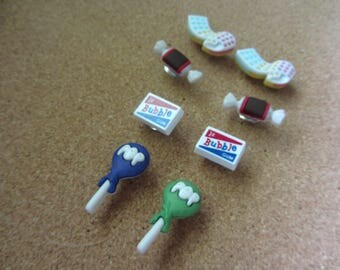 Fun Candy Push Pins
