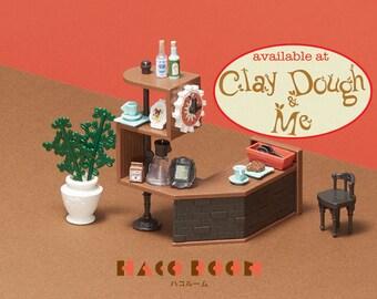 HACO Mino gaku cafe counter kit Miniature - HACO Room Dollhouse Miniature Toy, by BANDAI Japan