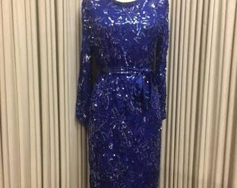 1980's Beaded Dress