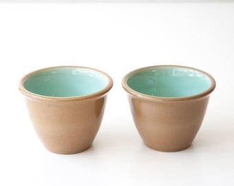 Vintage Mid Century Chateau Buffet Custard Cups - Taylor Smith Taylor