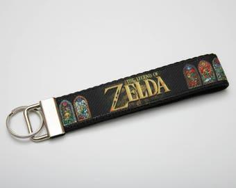 Geek ZELDA Keyring Keychain Keyfob